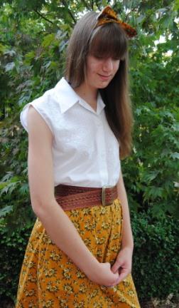 Retro Skirt 003