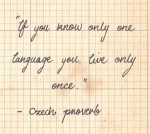 Czech Proverb
