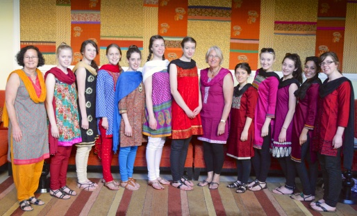 The Ladies in their Punjabis