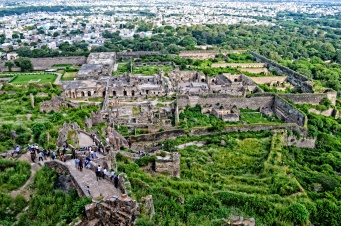 Full View of Golconda Fort