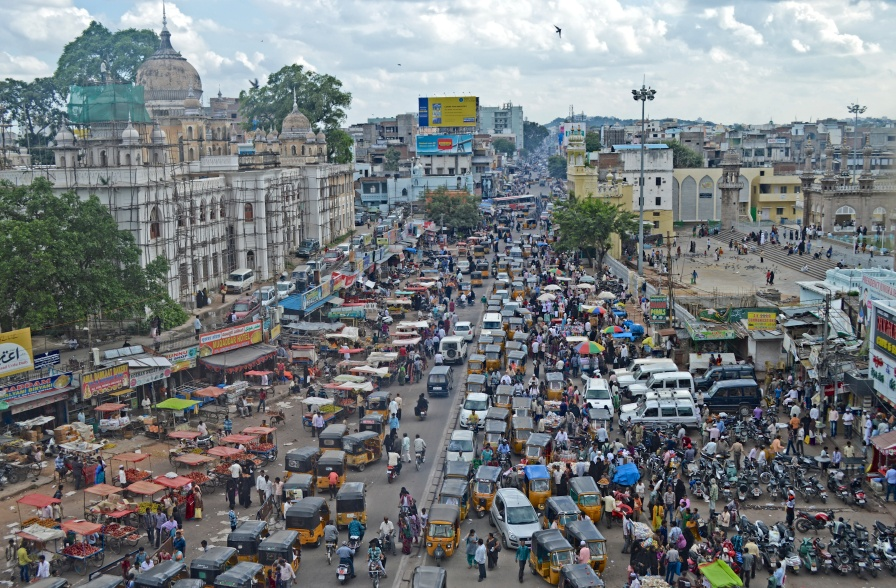 Ordered Chaos, View from Charminar
