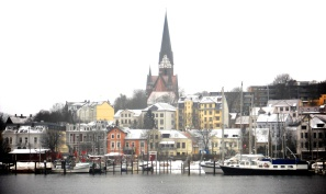 First look at the Flensburg fjord.