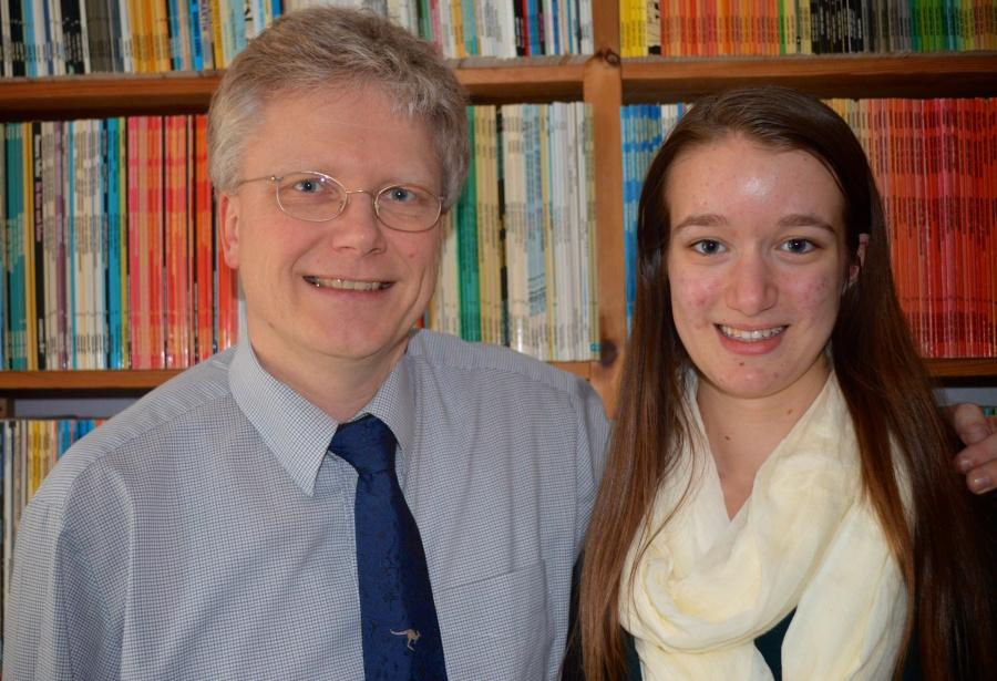 Jens and I
