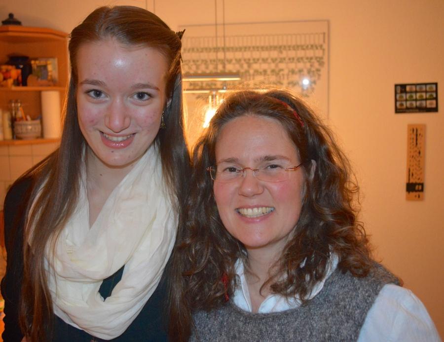 Sabine and I