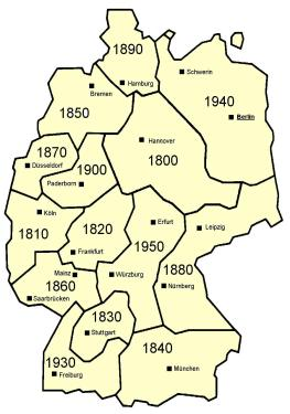 German Rotary Districts