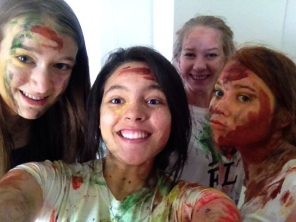 Holi Aftermath