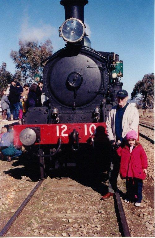 Train Ride with Grandad